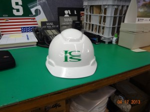 Customized hard hat Sticker 1 Image