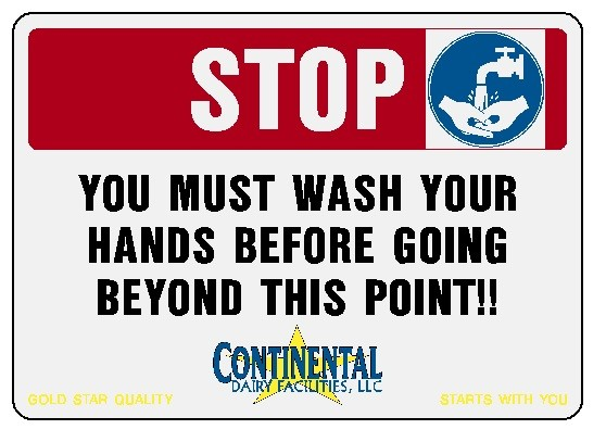 Stop - Wash Your Hands Image