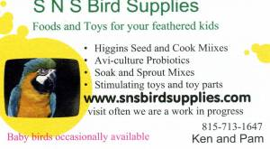 SNS BIRD SUPPLIES