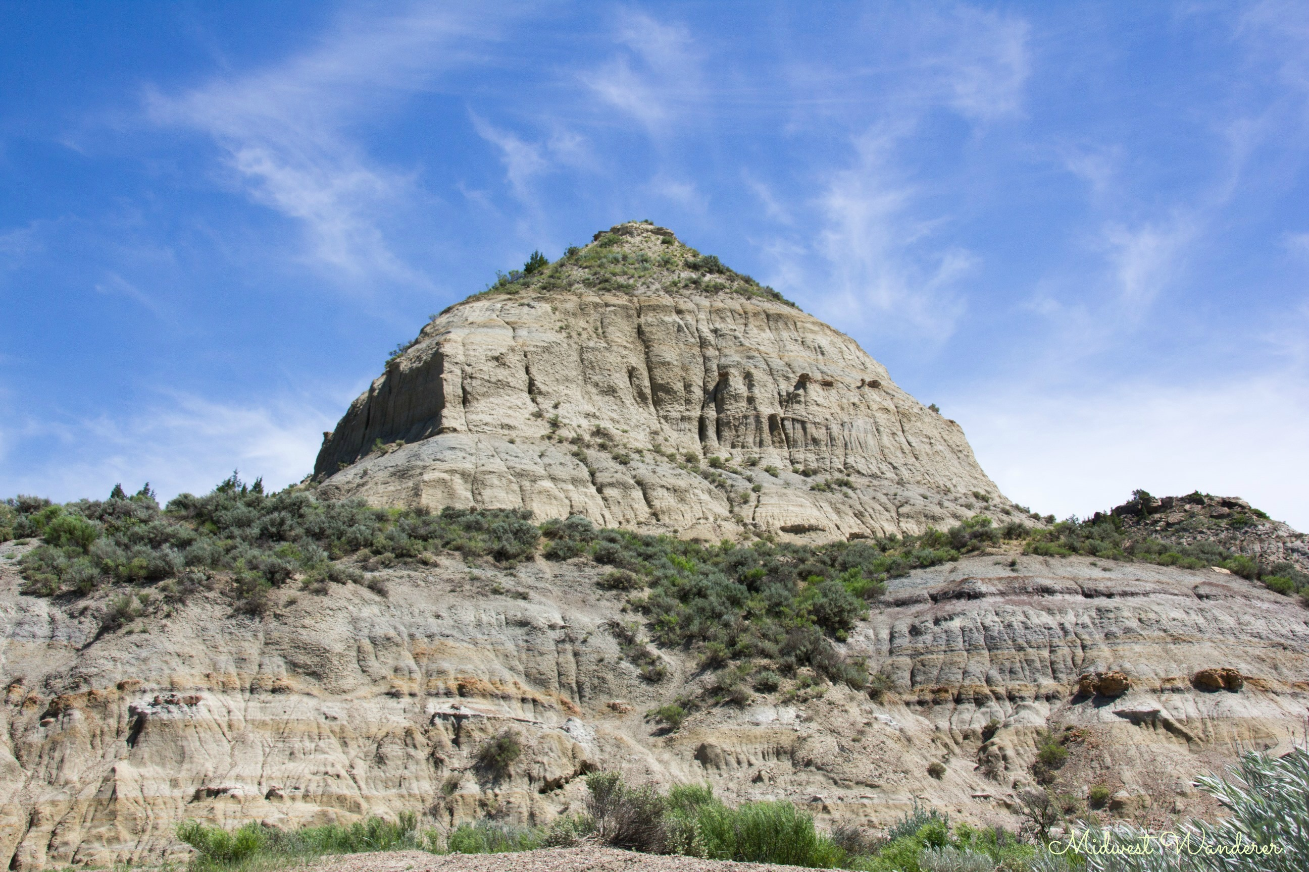 Driving Through Theodore Roosevelt National Park