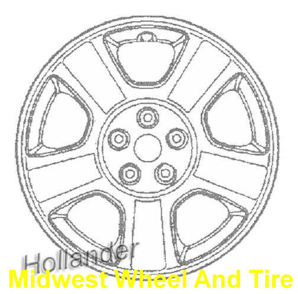 Mazda Tribute Ms Oem Wheel