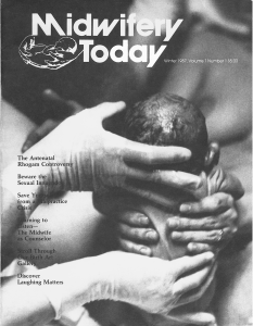 Midwifery Today Issue 1