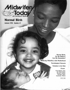 Midwifery Today Issue 47