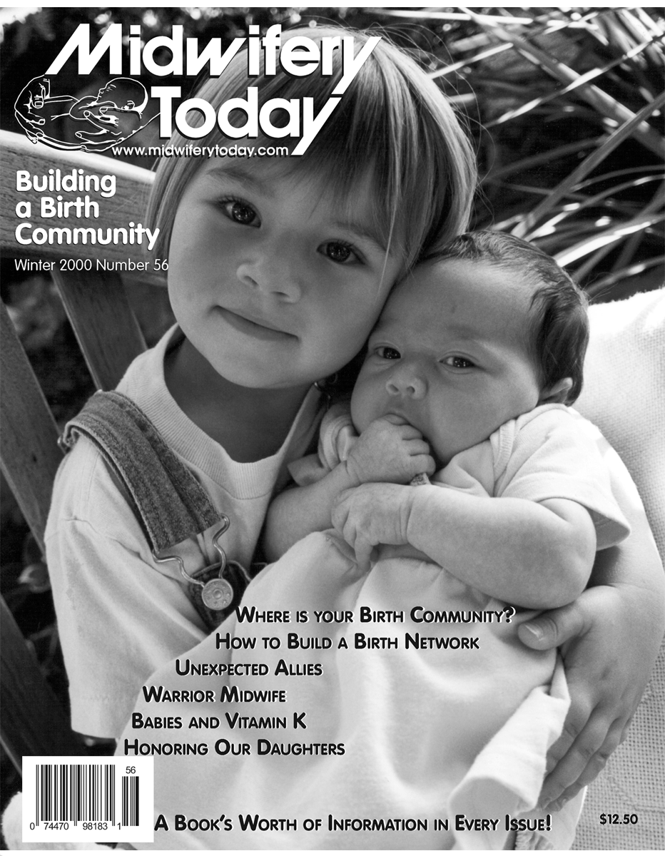Midwifery Today Issue 56