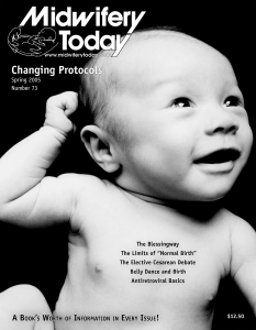 Midwifery Today Issue 73