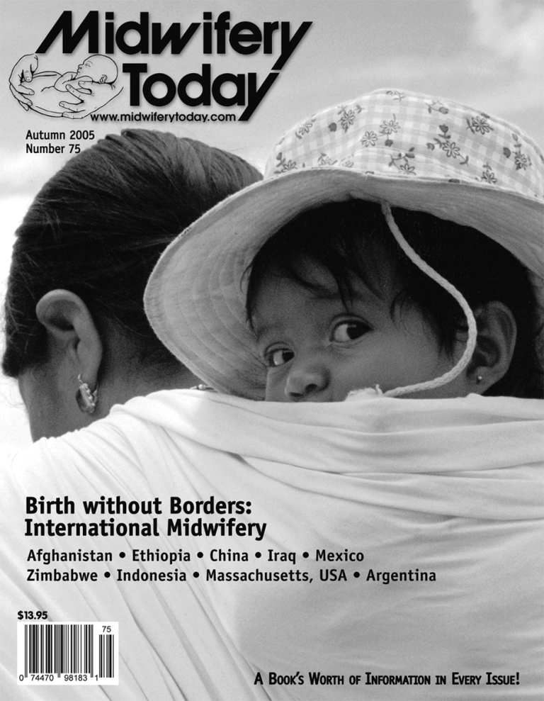 Midwifery Today Issue 75