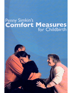 Comfort Measures For Childbirth DVD