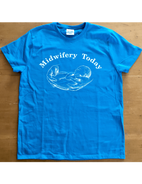 Turquoise Midwifery Today Logo T-Shirt