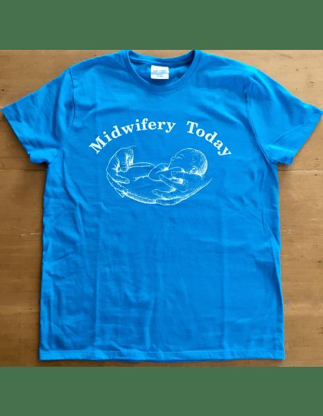 Turquoise Midwifery Today Logo T-Shirt