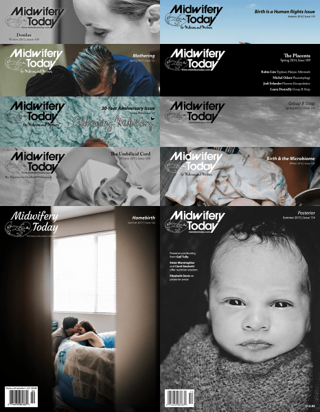 Package of all Midwifery Today back issues