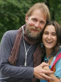 Philip Perkhov and Katerina Perkhova, publishers of Home Child magazine in Russia