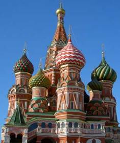 [Photo by Philipp Perkhov]St. Basil's Cathedral on Red Square