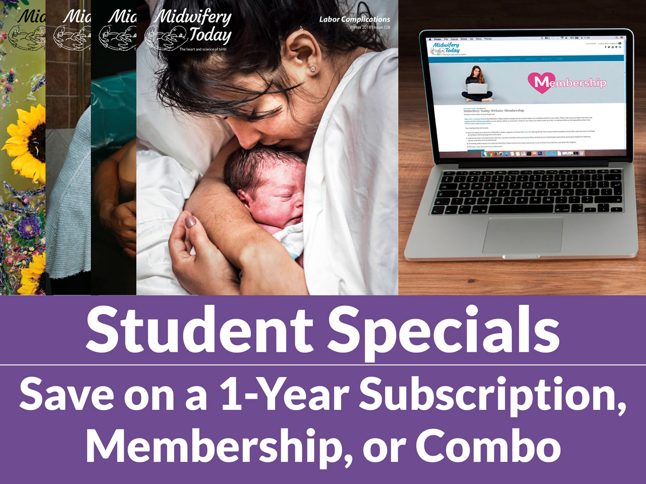 Students - save on one-year sub, membership or combo
