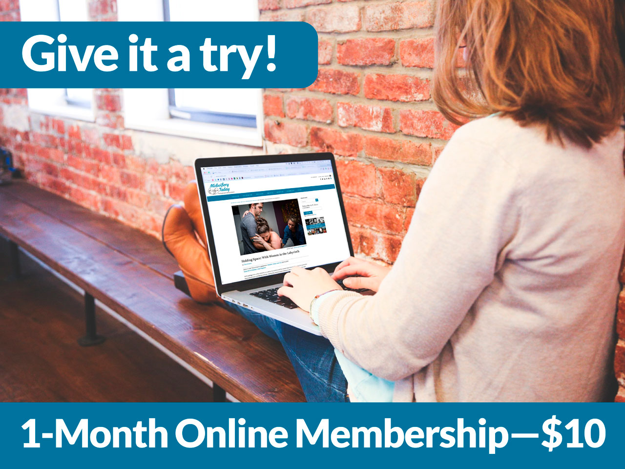 Try a 1-month Membership for $10