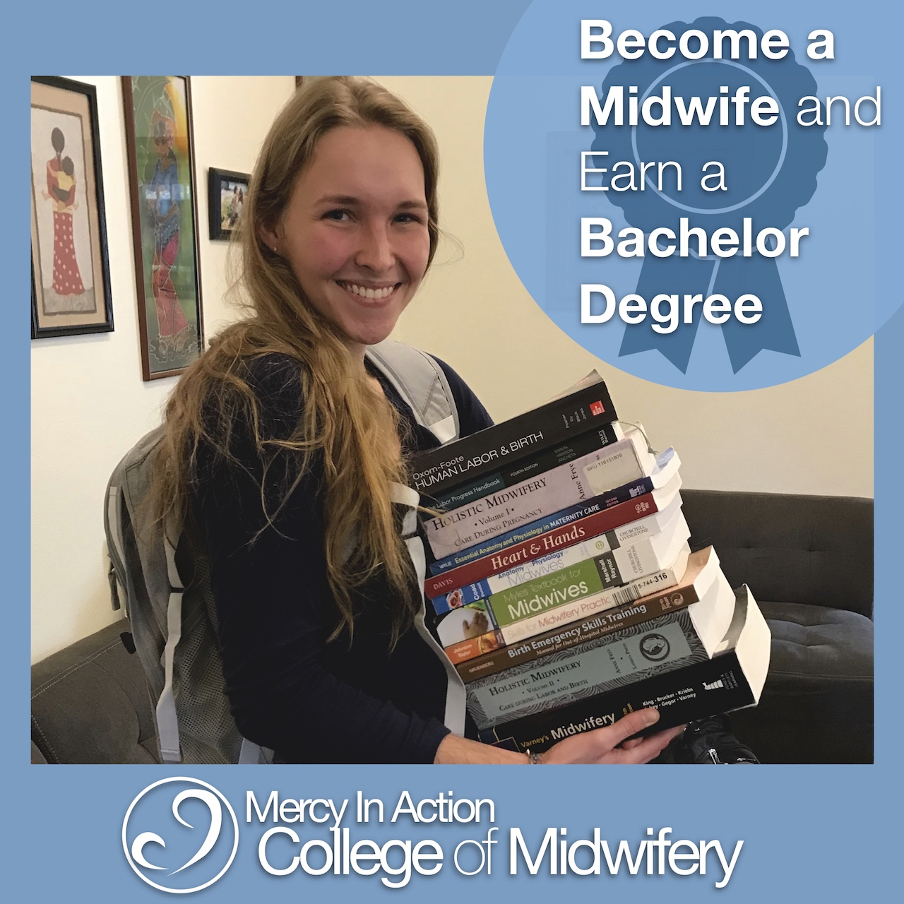 ad for Mercy in Action College