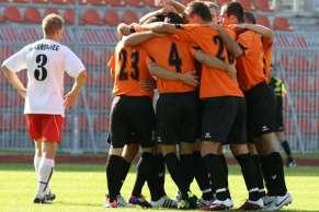 Mecz piłki nożnej Chrobry Głogów - Nielba Wągrowiec