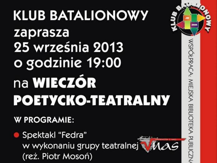 2013-09-21-wieczor-poetycko-teatralny@klub-batalionowy@Glogow-plakat-01-