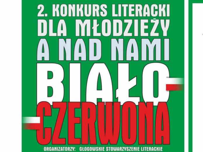 2013-11-06-konkurs-literacji-a-nad-nami-bialo-czerwona@Glogow-plakat01-