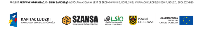 Grafika: logowanie projektu Aktywne Organizacje Silny Samorząd finansowanie POKL