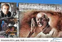 plakat-2014-04-22-spektakl-w-holdzie-Janowi-Pawlowi-II@MOK@Glogow-plakat Papieski-01