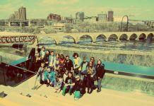 Zdjęcie: Głogowscy gimnazjaliści ze szkoły ASLAN w USA