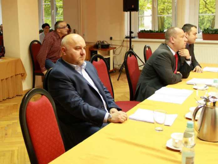 ZDJĘCIE: 2014-05-29 Jarosław Dudkowiak członek Zarządu Powiatu Głogowskiego