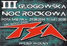 tsa III noc rockowa plakat
