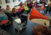 fonograf, czwartki w muzeum