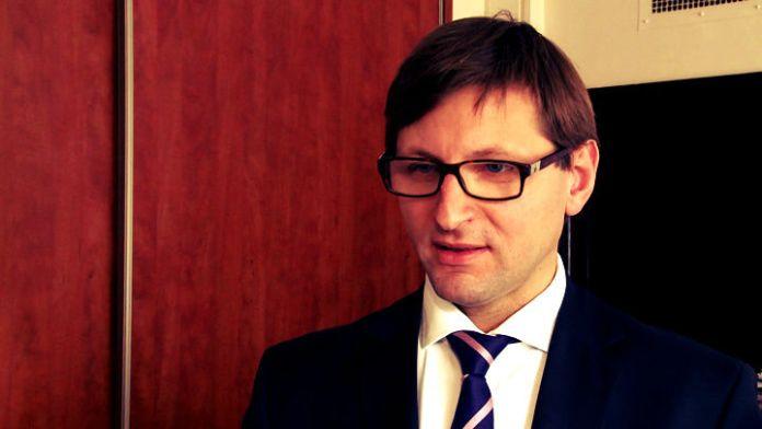 ZDJĘCIE: Artur Radziwiłł wiceminister finansów, pełnomocnik ds. wprowadzenia euro