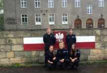 2014-10-01-manewry czerwonokrzyskie-klasa mundurowa -ZSim. Wyżykowskiego@Głogów-num