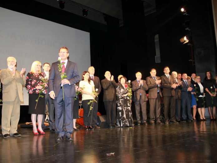 zdjęcie 2014-10-15 konwencja wyborcza Jana Zubowskiego@MOK@Głogów-num