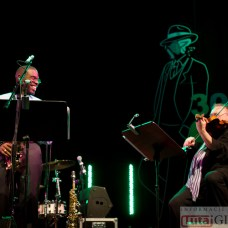 2014-10-18 Terri Lyne Carrington & Michał Urbaniak @MOK (fot.P.Dudzicki) 24
