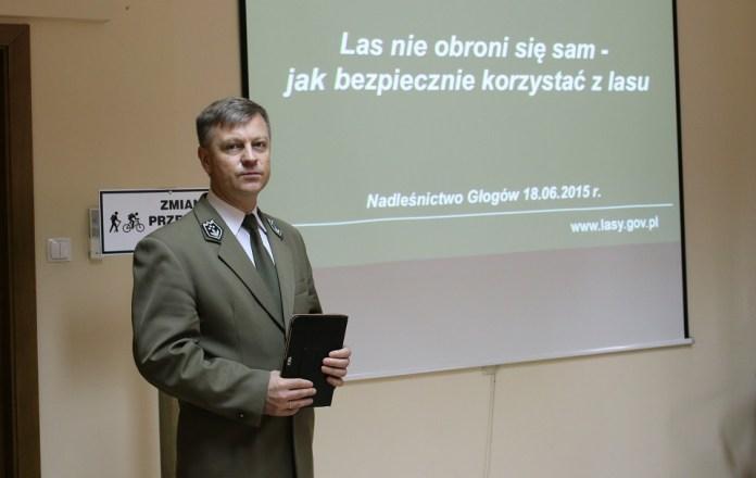 2015-06-20 Bezpieczny las @ Nadleśnictwo Głogów (fot. A. Błaszczyk) 2
