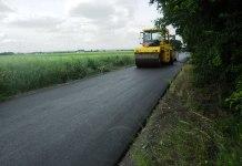 2015-06-11Na drodze Kozie Doły-Ceber jest już nowy asfalt