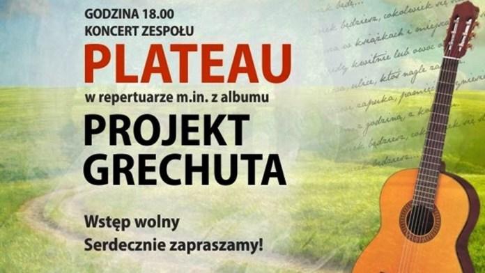 2015-06-18 Sucha Górna: Plateau z utworami Grechuty wystąpi w parku
