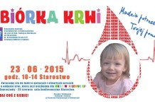 Polkowice: Organizują zbiórkę krwi dla małej Madzi