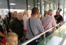 2015-08-22 Turyści coraz liczniej odwiedzają Głogów @Centrum Informacji Turystycznej (fot. A. Błaszczyk)