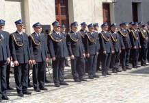 2015-09-06 Strażacy uczcili podwójny jubileusz @Zamek Książąt Głogowskich (fot. A. Błaszczyk) 3