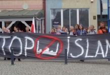 2015-09-27 Manifestacja antyimigrancka w Głogowie @Rynek (fot. A. Błaszczyk)