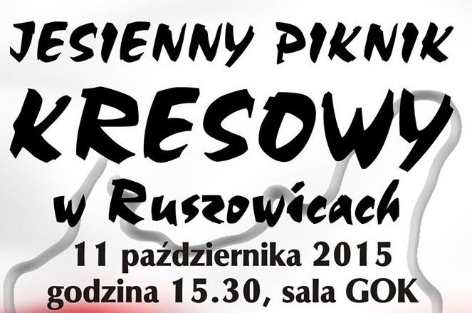 2015-10-10 Jesienny Piknik Kresowy @GOK Ruszowice (plakat)1