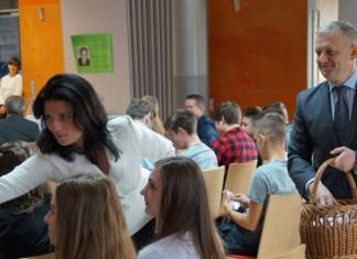 2015-10-10 Młodzież wybrała swojego reprezentanta @Starostwo Powiatowe w Polkowicach (fot. SP w Polkowicach)