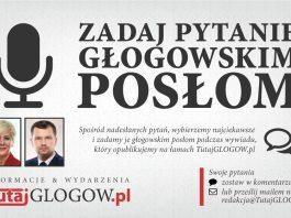 TutajGLOGOW.pl - zadaj pytanie głogowskim posłom foto