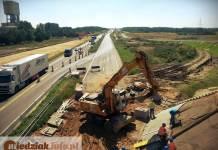 Miedziak.info.pl 2016 -08-27 Dorga S3 Nowa Sól Polkowice Lubin Remont drogi utrudnienia