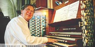 TutajLEGNICA.pl 2016-08 organista Martin Setchell 25 Międzynarodowy Festiwal Organowy Legnickie Wieczory Organowe