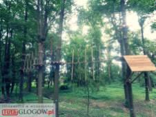 TutajGLOGOW.pl 2017-06-27 park linowy survivalowy ul. Rudnowska Głogów 03