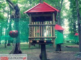 TutajGLOGOW.pl 2017-06-27 park linowy survivalowy ul. Rudnowska Głogów 07