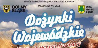 Miedziak.info.pl Dożynki Wojewódzkie Uraz Oborniki Śląskie 03.09.2017 UMWD