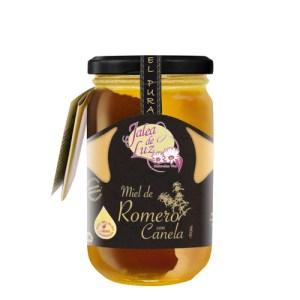 Miel de Romero con Canela 500 g.