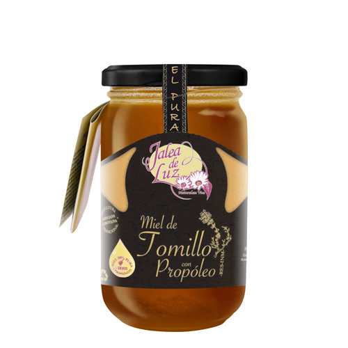 Miel de Tomillo con Propóleo 500 g.