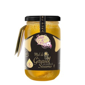 Miel de Girasol con Sésamo 500 g.